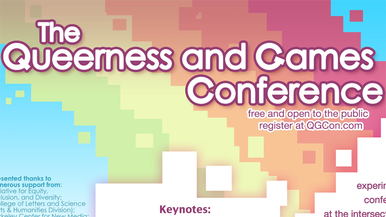 Dispatch from the Queerness and Games Conference